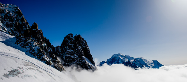 Chamonix, Alperna