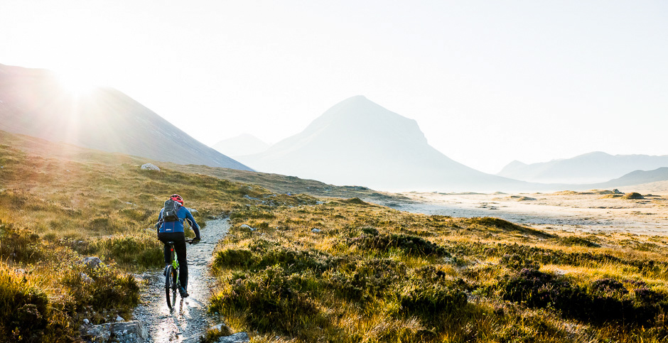 MTB, Isle of Skye, Scotland